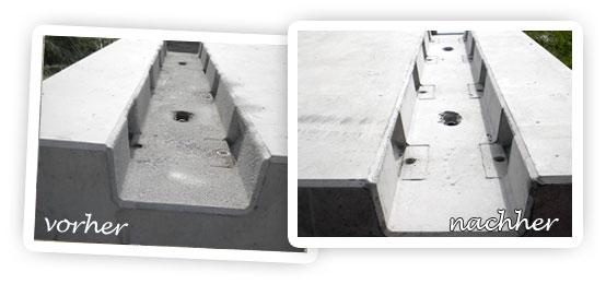 beispiele und bilder zum sandstrahlen mobile strahlarbeiten. Black Bedroom Furniture Sets. Home Design Ideas