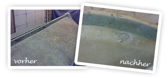 Top Beispiele und Bilder zum Sandstrahlen - mobile Strahlarbeiten IL42
